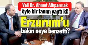 Erzurum'u neye benzetti?