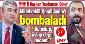 MHP'li yöneticiden Aydın'a eleştiri!