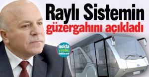 Erzurum'a raylı sistem...