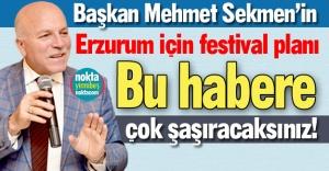 Erzurum'a yeni festival!