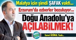 Erzurum'dan Doğu'ya açılmak...