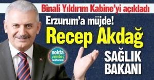 Erzurum'a bakanlık müjdesi!