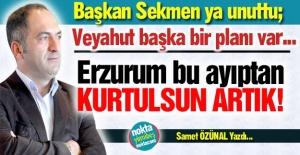 Erzurum bu ayıptan kurtulmalı!