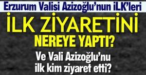Vali Azizoğlu'nun ilkleri...