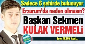 Başkan Sekmen'e çağrı!..