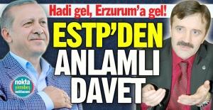 Hadi gel, Erzurum'a gel!