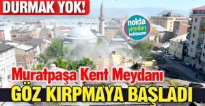 Muratpaşa Meydanı tamgaz!