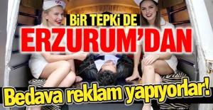 Bir tepki de Erzurum'dan!