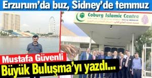 Erzurum'da buz, Sidney'de temmuz