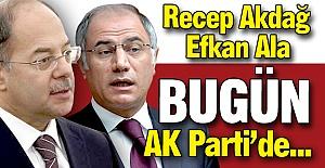 Bugün AK Parti'de...