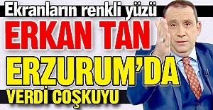 Erzurum'da verdi coşkuyu!