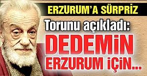 Üstad'ın Erzurum sürprizi...