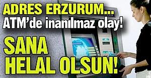 ATM'de inanılmaz olay!