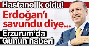 Erdoğan'ı savundu diye...