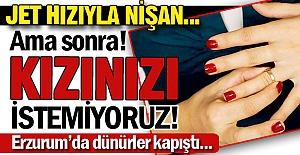 Erzurum'da dünür kavgası!..