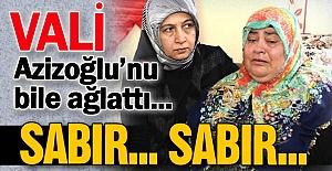 Erzurum Valisi'ni bile ağlattı...