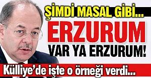 Külliye'de Erzurum örneğini verdi...