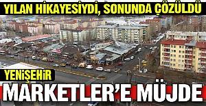Yenişehir Marketler'e müjde!