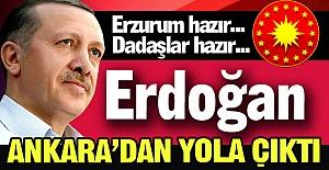 Erdoğan yola çıktı, geliyor!