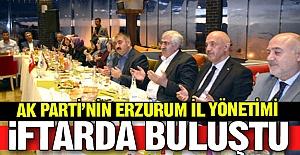 AK Parti yönetimi iftarda buluştu