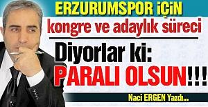Erzurumspor'da kongre ve adaylık...