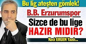 Erzurumspor lige hazır...