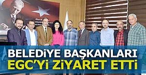 Belediye başkanları EGC'deydi