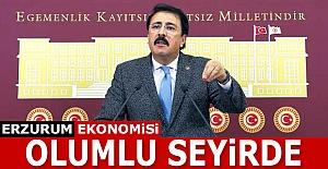Erzurum ekonomisi olumlu seyirde