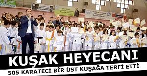 Erzurum'da kuşak heyecanı