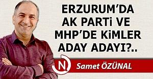 AK Parti ve MHP'de aday adayları...