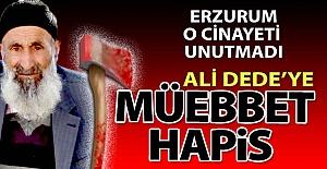 Ali Dede'ye müebbet hapis!..