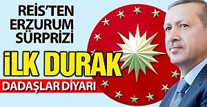 Erdoğan#039;dan Erzurum sürprizi