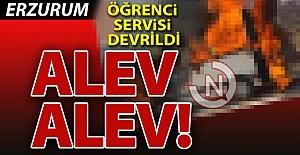 Erzurum'da yürekler ağza geldi!..