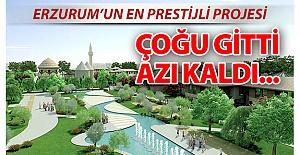Erzurum'un en prestijli projesi