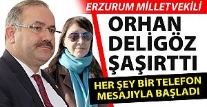Orhan Deligöz yine şaşırttı!..