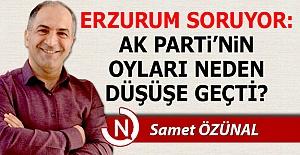AK Parti'nin oyları neden düşüşe geçti?