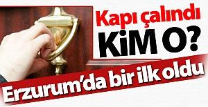 Erzurum'da bu ilk kez yapıldı...