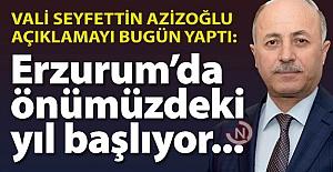 Erzurum'da önümüzdeki yıl başlıyor!..