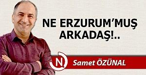 Ne Erzurum'muş arkadaş!..
