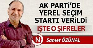AK Parti#039;de yerel seçimlerin...