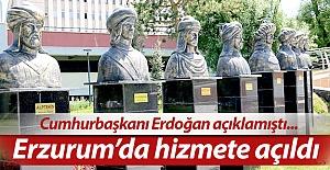 Erzurum'da hizmete girdi bile...