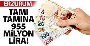 Tamı tamına 955 milyon lira!..