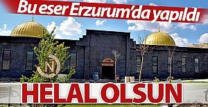 Bu eser Erzurum#039;da yapıldı...
