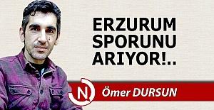 Erzurum, sporunu arıyor!..