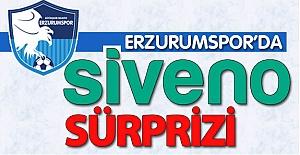 Erzurumspor'da Siveno sürprizi!..