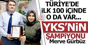 YKS şampiyonu Erzurum'dan çıktı!..