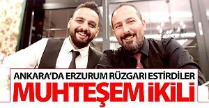 Erzurum#039;un muhteşem ikilisi!..
