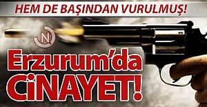 Erzurum#039;da cinayet!