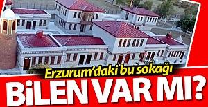 Erzurum#039;daki bu sokağı bilen...