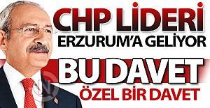 Kılıçdaroğlu Erzurum#039;a geliyor!